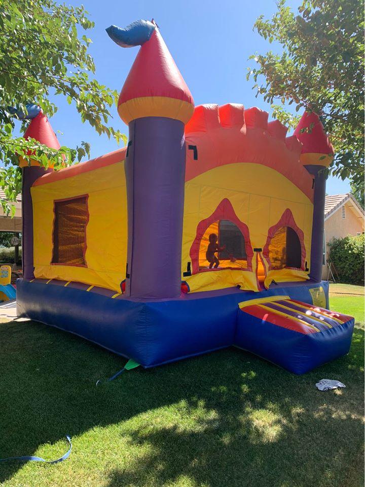 Large Castle Bounce House Jumper